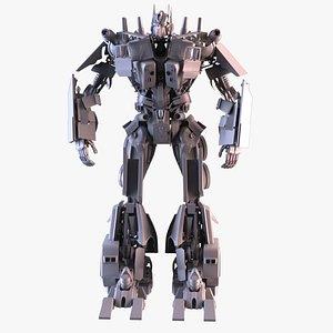 3D optimus prime transformers