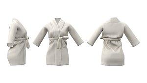 Short Robe 3D