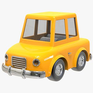 City Dweller Cartoon Car 3D model