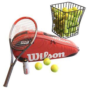 tennis kit hq 3D model