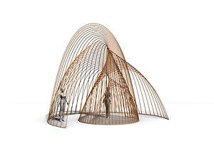 pavilion parametric 3D