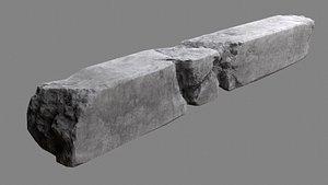 concrete column 3D
