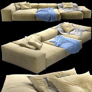 3D sofa extrasoft model