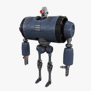 3D Cartoon Robot 2