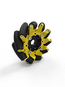 Mecanum 3D model