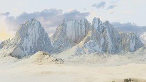 Mountain Terrain 1e 3D model