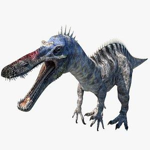 3D model suchomimus dinosaur