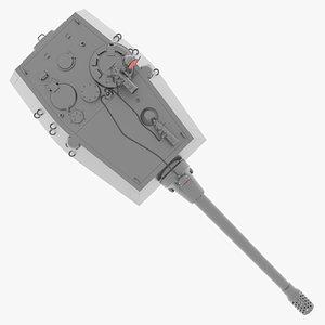 henschel turret 3D model