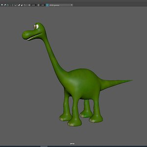 3D arlo good dinosaur model