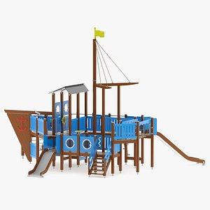 Lappset Fishing Ship 3D model