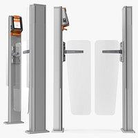 Axess AX500 Smart Gate NG Flap Glass