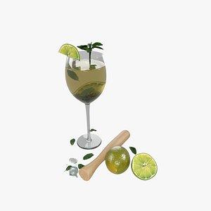 3D Cocktail model