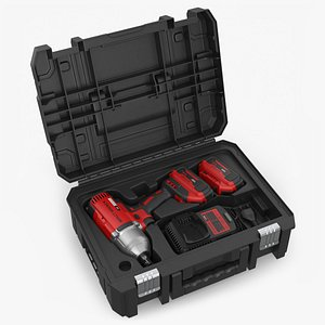 3D Impact Wrench with Charger and Box