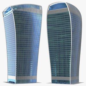 3D Commercial Skyscraper 20 Fenchurch Street model