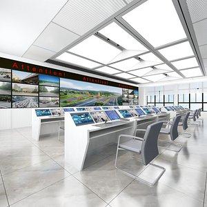 Full Traffic Surveillance Center 3D