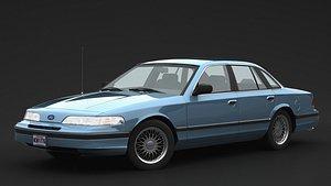 crown 1992 victoria 3D model