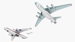 aircraft airplane aviation 3D