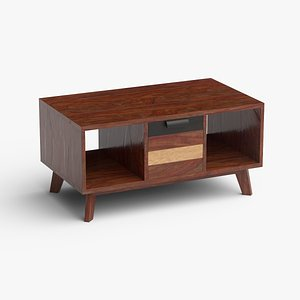 coffee-table wood 3D model