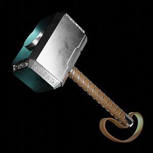 Thor's Hammer - Mjolnir model