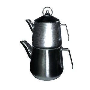 3D tea kettle