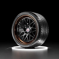 Car wheel Michelin Pilot Sport Cup 2 tire with HRE Calssic 300 rim