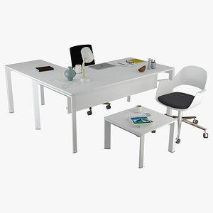 nurus desk office 3D model