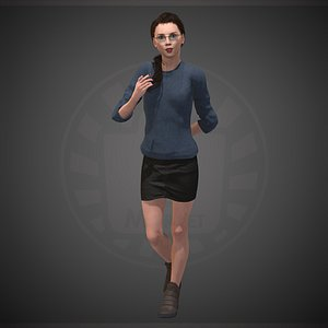 character people human 3D model