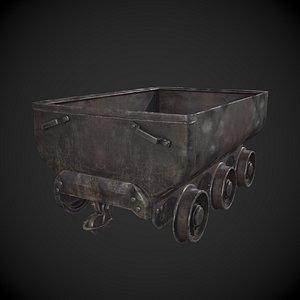 Mining Cart 3D