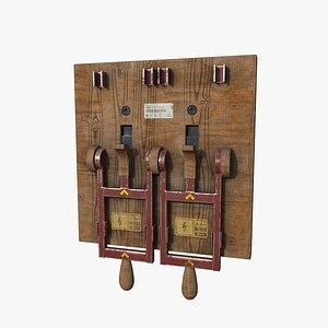 3D Industrial Switch model