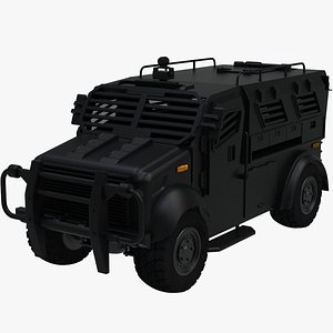 military vehicle truck 3D model