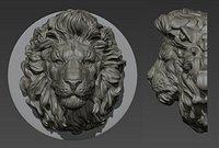 Lion head  for pendant