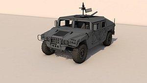 HUMMER LowPoly 3D model