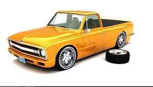 3D truck custom