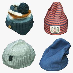 knit cap model