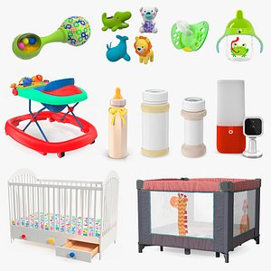 3D Childcare Products Collection 7 model
