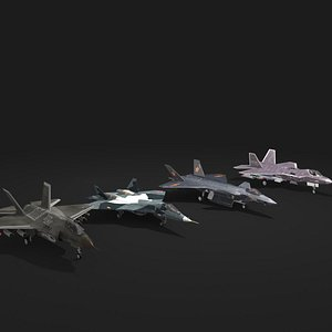 jet fighter collection 3D