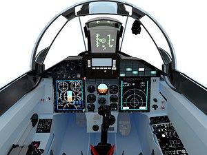 3D cockpit mig smt