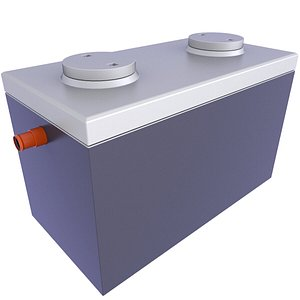 3D Concrete Precast Septic Tank 10