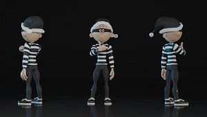 3D Young Thief