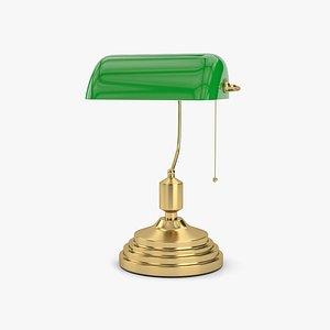 3D Banker Lamp