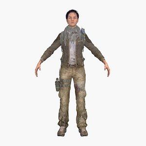 Soldier Heather 3D