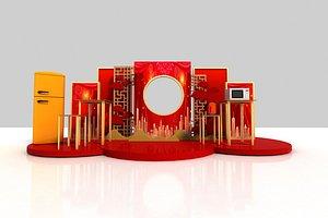 Exhibition 3D model