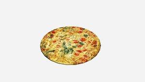 egg omelette 3D model