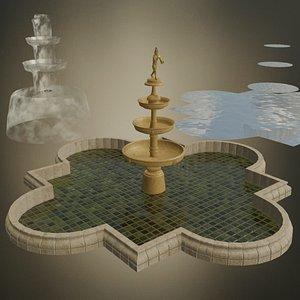 3D pool ornamental