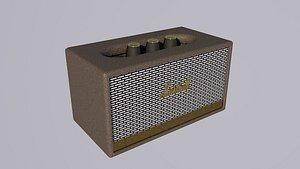 Marshall Stanmore II Wireless Bluetooth Speaker 3D