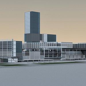 Modern City 12 model