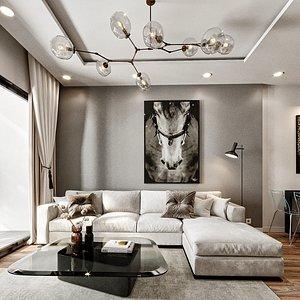 furniture room decor model
