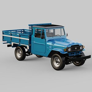 3D model Toyota Land Cruiser - Bandeirante 1994