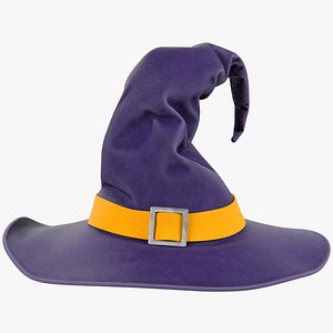 3D Witch Hat V2