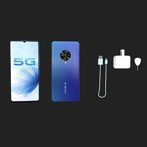 3D vivo s6 smartphone model